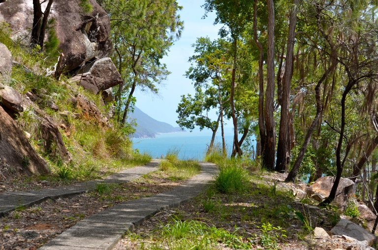 This last picture was taken on Fitzroy Island. I hope you soon find your very own path to paradise.