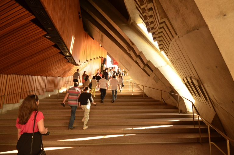 Hallways within the Opera House! The architecture was amazing.