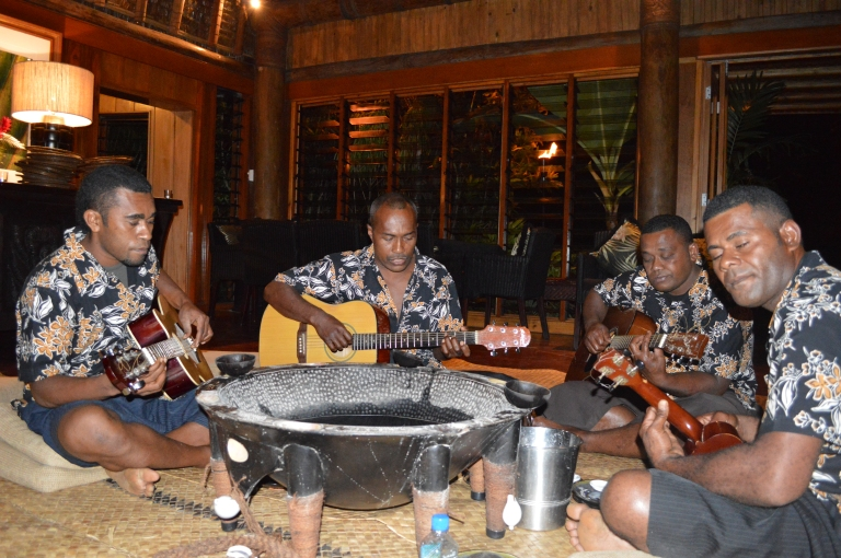 Lastly, the wonderful Kava band that entertained us that night. Sean loved the Kava!