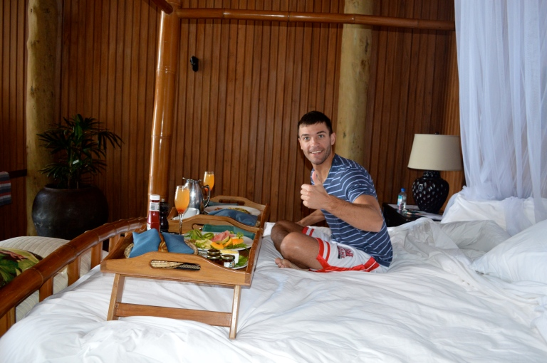 We enjoyed amazing breakfast in bed!