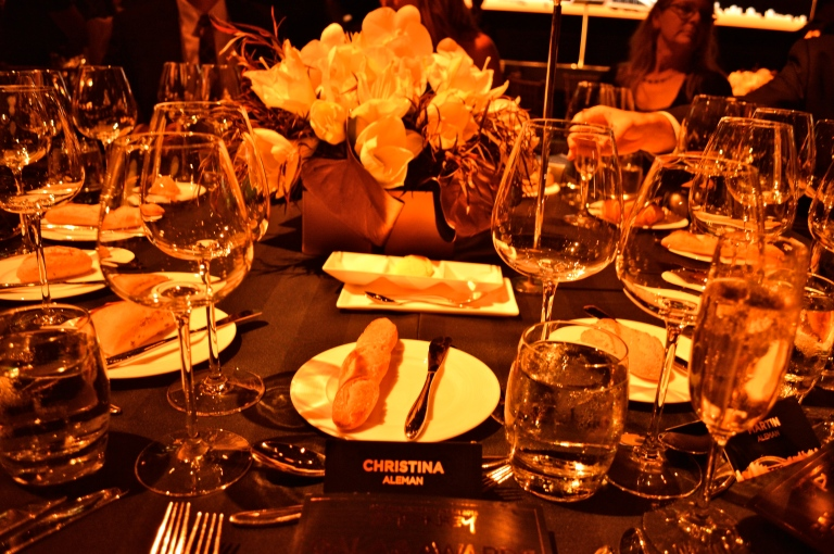 Now this is a place setting! Yes, the bread was DELISH.