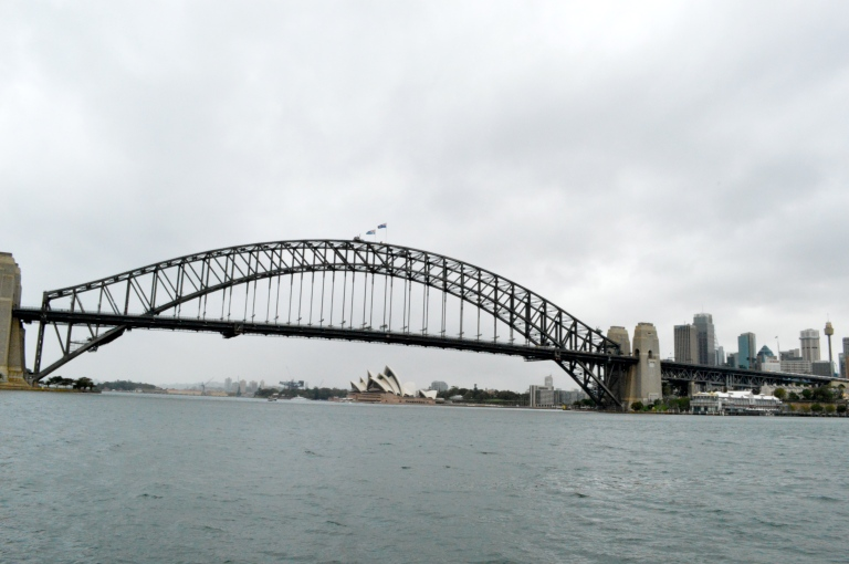 Harbour Bridge and Sydney Opera House view? I will take it...how about everyday? Dang it!