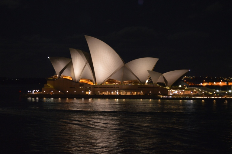 Absolute PERFECT view of the Opera House. We had the best seats in the house on the top deck of Quay!