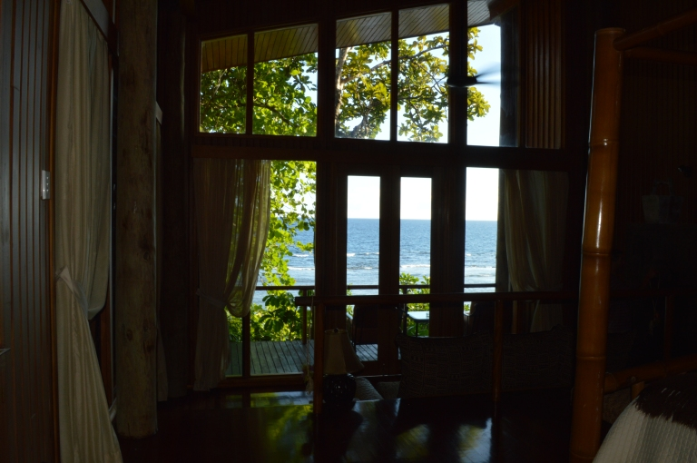 Gorgeous water views from everywhere in our room!