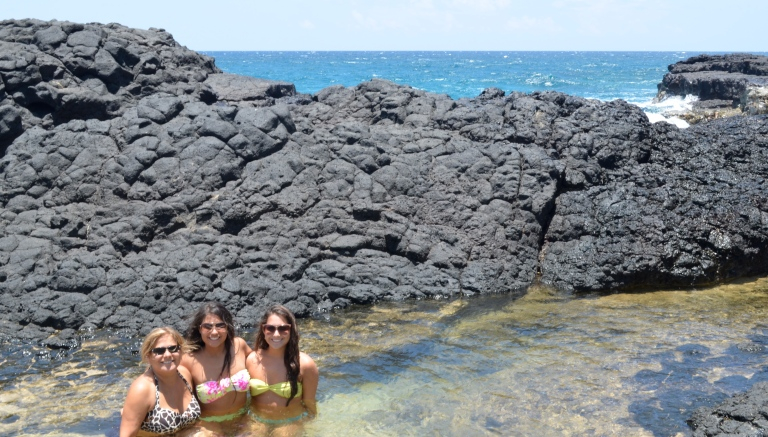 Lava Rock Salt Water Baths in Kauai