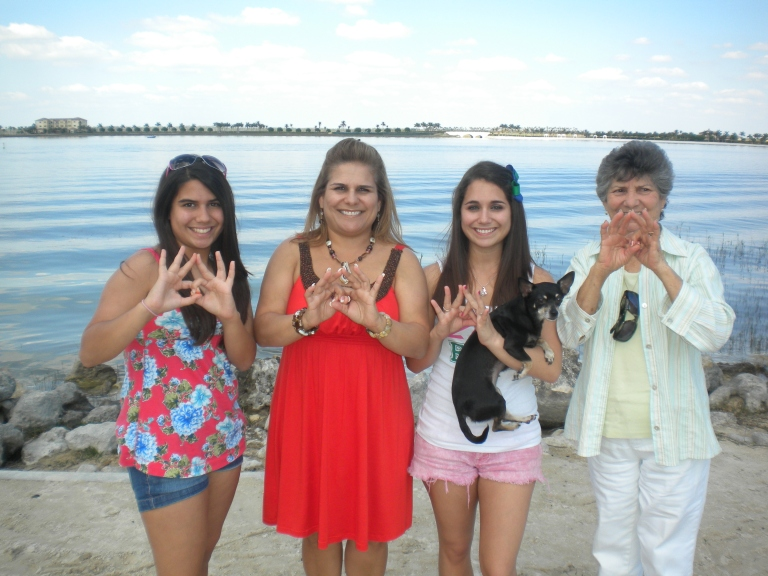 Zeta Family. Happy Mother's Day to my wonderful grandma too!