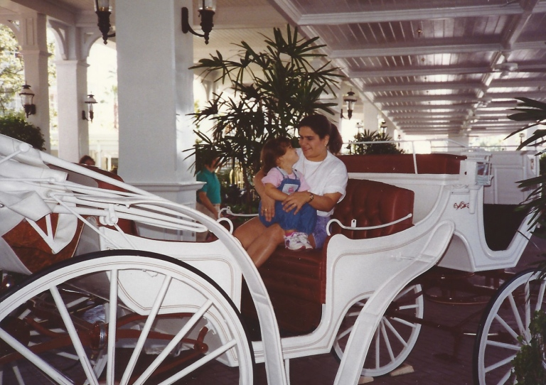 Vacation to Walt Disney World in 1992