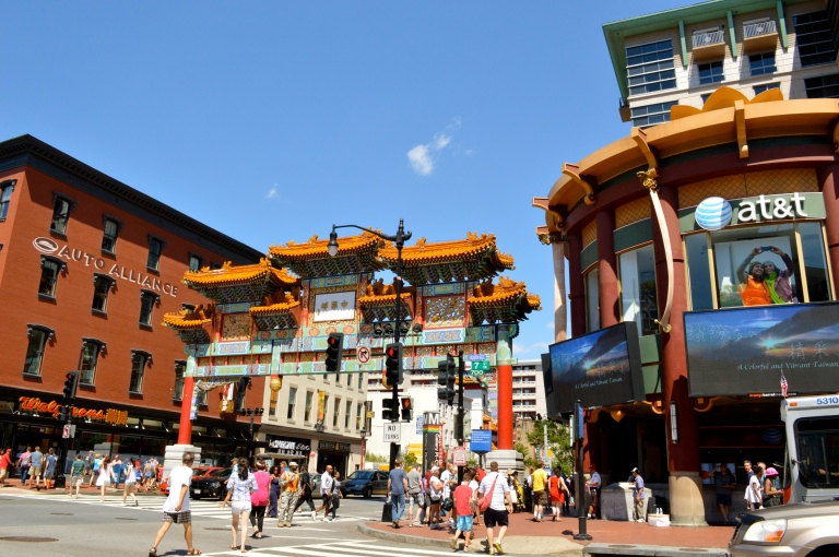 I LOVED China Town. It was such a great area of the city with tons of culture! We had lunch at a Sangria/Tapas bar, called La Tasca, and it was so good!