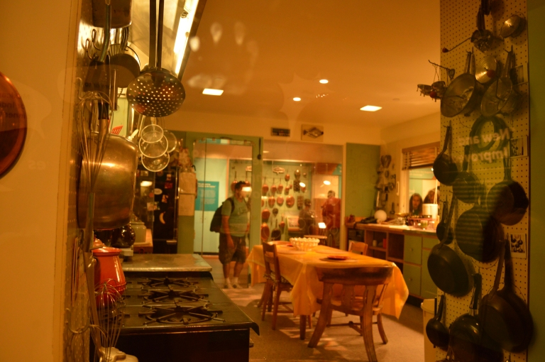 Julia Child's preserved kitchen donated to the museum.