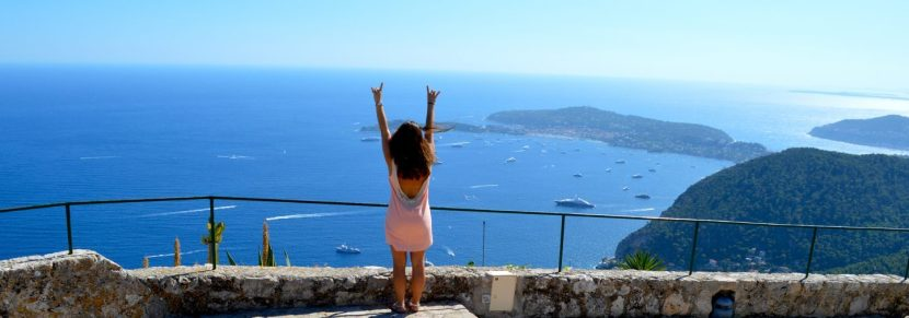 Eze, France, our little piece of heaven.