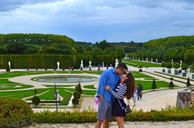 Gardens at the Chateau de Versailles