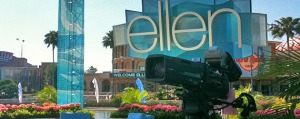 ELLEN TAPING (ps. I LOVE ELLEN) Photo Provided by: Insidethemagic.net